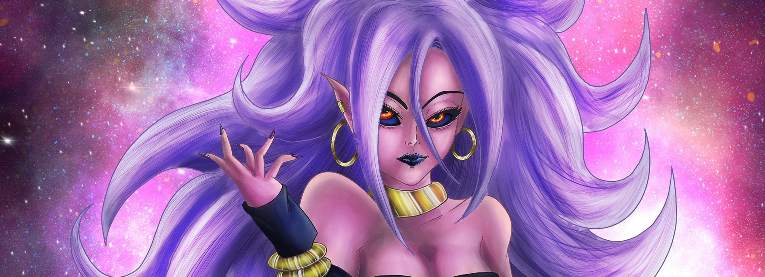 Android 21 Illustration
