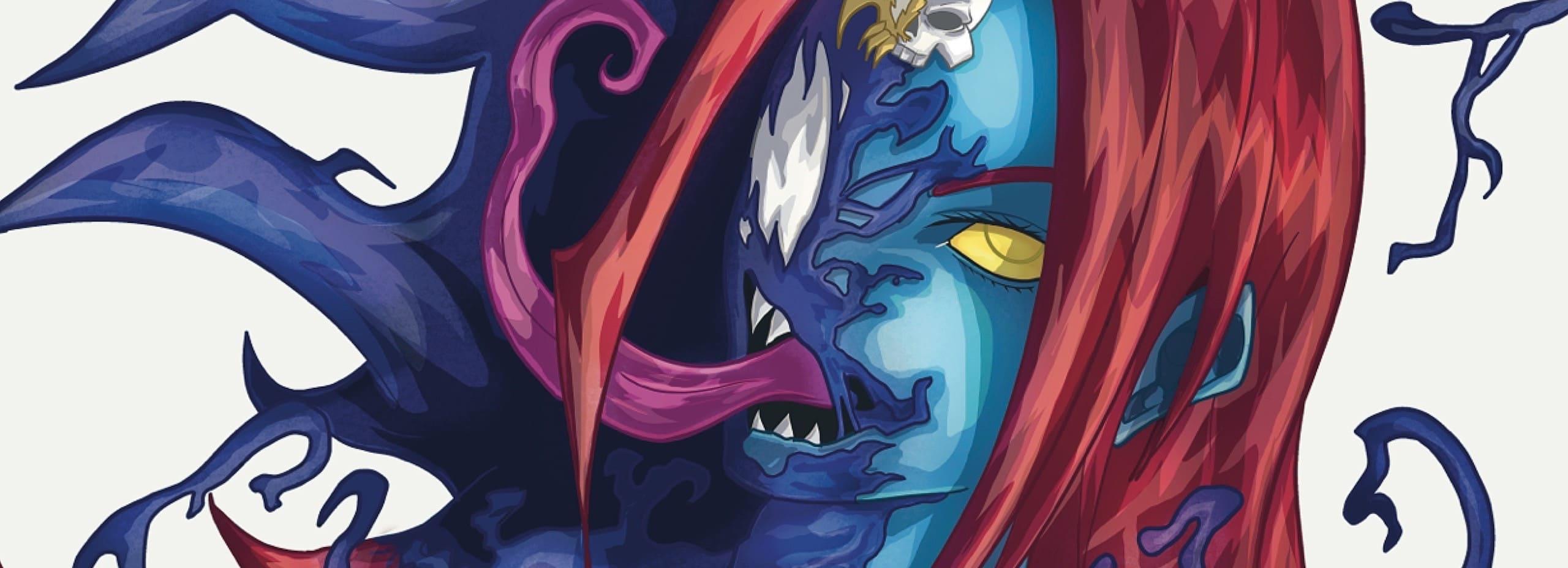 Venomizing Mystique